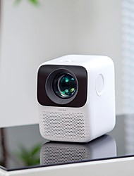 cheap -XIAOMI Wanbo T2MAX 1080P Mini LED Projector WIFI Android System 200ANSI Phone Same Screen Multi Language Vertical Keystone Correction Portable Cinema Home Theater Outdoor Movie Beamer