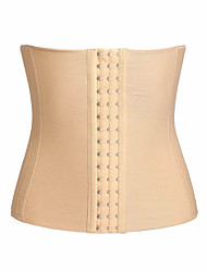 cheap -Body Shaper Corset Sports Cotton / Polyester Yoga Fitness Gym Workout Stretchy Breathable Strengthens Muscle Tone Support For Waist