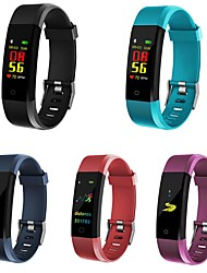 cheap -ID115 PLUS Smart Band Fitness Bracelet Bluetooth Pedometer Activity Tracker Sleep Tracker Long Standby Camera Control Anti-lost IPX-3 for Android iOS Men Women / Sedentary Reminder / Gravity Sensor
