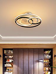 cheap -LED Ceiling Fan Light Circle Design 53cm 58cm Aluminum Artistic Style Vintage Style Modern Style Painted Finishes 220-240V 110-120V