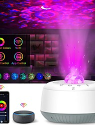 cheap -Star Galaxy Projector Light Projector Light Laser Light Projector Smart App Control Dimmable colors Party Party Halloween Gift  RGB+White