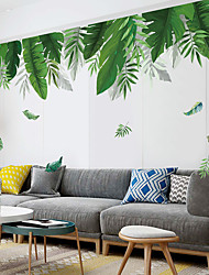 cheap -nordic ins fresh green plants living room sofa background wall decoration bedroom creative dormitory wallpaper self-adhesive paper 60*90CM