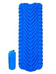 cheap -Inflatable Sleeping Pad Camping Pad Air Pad Outdoor Camping Portable Ultra Light (UL) Moistureproof Anti-tear TPU Nylon 190*60*5 cm for 1 person Fishing Beach Camping / Hiking / Caving Autumn / Fall
