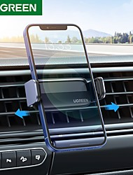 cheap -UGREEN Phone Holder Stand Mount Car Car Holder Buckle Type Silicone Aluminum Alloy Phone Accessory iPhone 12 11 Pro Xs Xs Max Xr X 8 Samsung Glaxy S21 S20 Note20