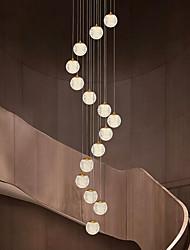 cheap -Ceiling Light Pendant Light Globe Design Cluster Design Copper Formal Style Globe Brass LED Modern 10 15 20 Heads 220-240V 110-120V