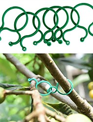 cheap -50pcs Garden Clips Trellis for Vine Vegetable Tomato To Grow Upright Garden Plant Stand Tool Accessories Plant Support
