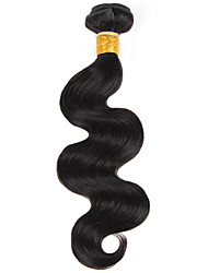 cheap -Ishow Peruvian Virgin wig Natural color Body 100G human hair bundle sold in Europe and the United States