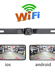 cheap -PZ438 N / A Wireless Rear View Camera Waterproof / 360° monitoring for Car Reversing camera