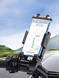 cheap -Phone Holder Stand Mount Motorcycle Bike Bike & Motorcycle Phone Mount Car Holder Gravity Type Adjustable 360°Rotation Silicone ABS Phone Accessory iPhone 12 11 Pro Xs Xs Max Xr X 8 Samsung Glaxy S21