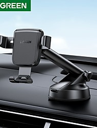 cheap -UGREEN Phone Holder Stand Mount Car Car Holder Cupula Type Gravity Type Adjustable Aluminum Alloy ABS Phone Accessory iPhone 12 11 Pro Xs Xs Max Xr X 8 Samsung Glaxy S21 S20 Note20