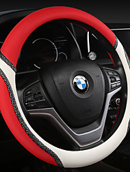 cheap -Steering Wheel Covers Carbon Fiber Blue / Purple / Blushing Pink For universal General Motors All years