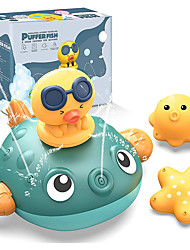 cheap -Baby Bath Toys, Automatic Sprinkler Bathtub Shower Toys for Toddlers Kids Boys Girls, Pool Bathroom Toy with 3 Replaceable Water Spray
