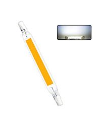 cheap -1pc 10 W LED Bi-pin Lights 1000 lm R7S T 1 LED Beads COB Warm White Cold White 220-240 V 110-130 V