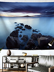 cheap -Landscape Wall Tapestry Art Decor Blanket Curtain Hanging Home Bedroom Living Room Decoration Polyester Ocean Rock