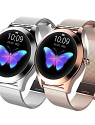 cheap -KW10 Smart Watch BT Fitness Tracker Support Notify/Heart Rate Monitor Sport Stainless Steel Bluetooth Smartwatch Compatible IOS/Android Phones