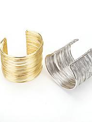 cheap -fashion bracelet metal high quality open wire bracelet