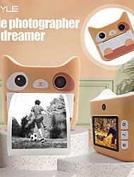 cheap -JJ02 Instant Camera Kids Portable WiFi Instant Print 2.4 inch CMOS Sensor Street