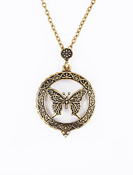 cheap -Necklace Long Necklace Women's Simple Fashion Cool Gold 64 cm Necklace Jewelry 1pc for Street Daily Carnival