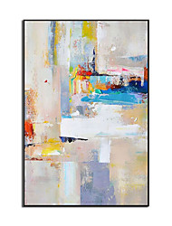 cheap -Oil Painting Handmade Hand Painted Wall Art Minimalist Modern Colorful Abstract Home Decoration Decor Rolled Canvas No Frame Unstretched