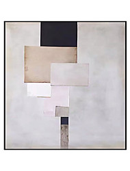 cheap -Oil Painting Handmade Hand Painted Wall Art Squares Abstract Home Decoration Decor Stretched Frame Ready to Hang