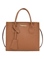 cheap -Women's Bags PU Leather Crossbody Bag Plain Fashion Daily Date 2021 Handbags Blue Red Blushing Pink Black