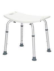 cheap -Aluminum Alloy Lift Bath Chair 8 Files PE Bench Rubber Mat White Furniture