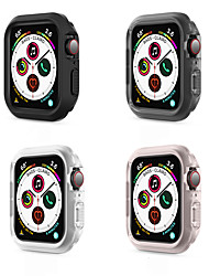 cheap -Smart watch Case Cases For Apple iWatch 44mm Silicone Screen Protector Smart Watch Case Compatibility