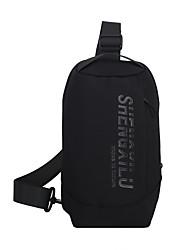 cheap -Men's Unisex Bags Nylon Sling Shoulder Bag Daily 2021 Black