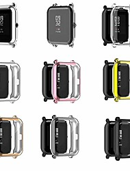cheap -chofit 7 pack case compatible with amazfit gts 2 mini protective case all-around tpu anti-scratch case bumper cover for amazfit gts 2 mini smartwatch accessories