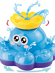 cheap -Bath Toy, Spray Water Octopus (Ramdom Colour), Can Float Rotate with Fountain, Floating Bathtub Shower Pool Bathroom Toy for Baby Toddler Infant Kid Party, Water Pump Electronic Sprayer