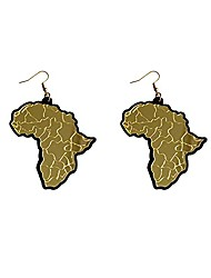 cheap -gbahfy acrylic african map drop earrings for women girls punk fashion jewelry big size fashionable map earrings gift (acrylic african map drop earrings-gold)