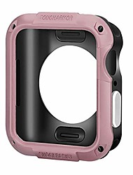 cheap -tkpold flyuzi tough armor cover shockproof case for iwatch for apple watch series 5 4 3 2 1 40mm 42mm 38mm 44mm original luxury brand accessories (color : rose gold, dial diameter : 44mm)