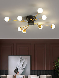 cheap -LED Ceiling Light Modern Nordic Chandelier 6 8 Heads Flush Mount Lights Metal Artistic Style Modern Style Stylish Painted Finishes 220-240V