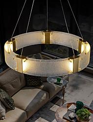cheap -LED Pendant Light Circle Gold 80 cm Lantern Desgin Pendant Light Metal LED 220-240V 110-120V