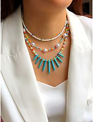 cheap -Women's Jewelry Set Beads Colorful Fashion Holiday Folk Style Boho Imitation Pearl Earrings Jewelry 1# / 2# / 3# For Street Gift Prom Beach Festival 3pcs