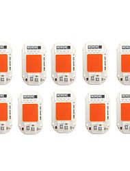 cheap -LED Grow Chip 10pcs 6pcs 20W 30W 50W COB Chip LED Lamp 220V 240V No Need Driver for Flood Light Spotlight Lampada DIY Lighting