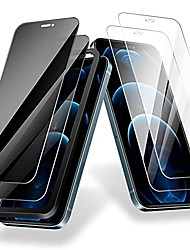 cheap -Phone Screen Protector For Apple iPhone 12 iPhone 11 iPhone 12 Pro Max iPhone XR iPhone 11 Pro Tempered Glass 4 pcs 9H Hardness Explosion Proof Scratch Proof Front Screen Protector Phone Accessory