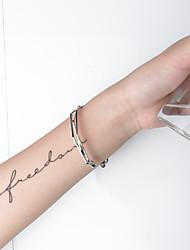 cheap -Women's Bracelet Geometrical Heart Stylish Simple Boho Plastics Bracelet Jewelry Golden / Rose Gold / Black For Daily Promise