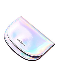 cheap -Women's Bags PVC Plastic Coin Purse Sequin Daily Outdoor Laser Jelly Bags 2021 Blushing Pink Silver Gold Black