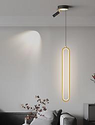 cheap -LED Pendant Light Black Gold Modern Bedside Light 10 cm Lantern Desgin Pendant Light Metal Painted Finishes Modern 220-240V 110-120V