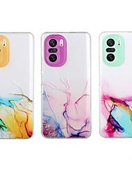 cheap -Marble Clear Phone Case For Xiaomi Mi 11 Ultra Mi 11 Lite Mi Note 10 Lite Poco X3 NFC Poco X3 Pro Poco M3 Redmi K40 Pro Redmi Note 9 Pro Max Camera Lens Protection Shockproof Protective TPU Back Cover
