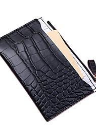 cheap -Women's Bags PU Leather Coin Purse Zipper Crocodile grain Daily Outdoor Retro Dark Brown Blue Blushing Pink Green