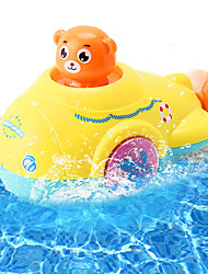 cheap -Bath Toy Water Jet Submarine Toy Wind Up Squirts with Propeller for Kids Sensory Development Bathtime Shower for3 4 5Years&Up Old Baby,Toddler,Boys, Girls, Kids Gift Colour Blue Yellow(2 pcs)