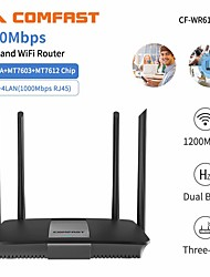 cheap -Comfast Wireless 1200Mbps 2.4 Hz 4 WR618AC V2