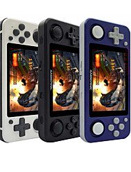 cheap -NEW RG351P ANBERNIC Retro Game Console RK3326 Linux System PC Shell PS1 Game Player Portable Pocket RG351 Handheld Game Console