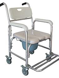 cheap -Multifunction Heavy Duty Memory Foam Cushion Commode Chair Adult Bathroom Toilet Seat White Beige Cushion Furniture