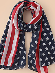 cheap -Women's Active Infinity Scarf - Print Breathable