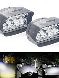cheap -1PCS Led motorcycle headlights Fog Spotlight headlights 12W electric car headlights waterproof locomotive LED lights general