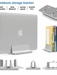 cheap -Alloy Standing Desk Laptop Stand Storage Adjustable Book Tablet Notebook Holder For Macbook Pro Air DELL iPad Laptop Accessories