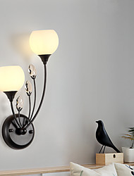 cheap -LED Wall Lights Flush Mount Wall Lamps Living Room Shops Cafes Glass Wall Light 110-240 V